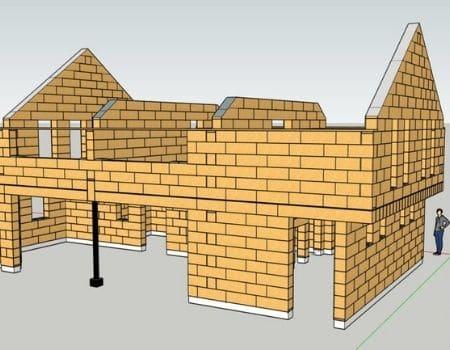 Gablok : les blocs de coffrage en bois